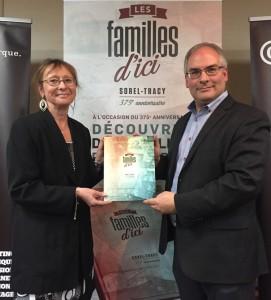 Lancement du livre Les familles d'ici
